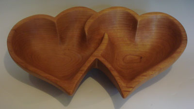 Double heart bowl