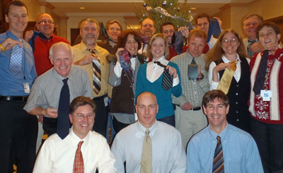 Doug's ties on his friends from the CT DEEP